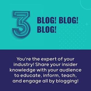 Tactic 3 Blog